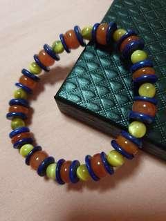 Assorted Agate  Bracelet