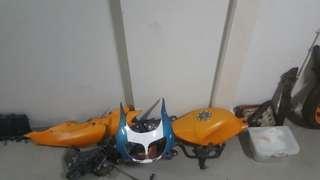 NSR 150 SP Scrap parts