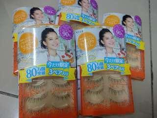 clearance price: RM50 for 3 boxes !! Koji lash concierge Eyelash - most natural eyelashes
