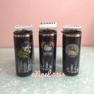 Hello Kitty x DC Comic Stanless Steel Travel Tumbler #MHB75