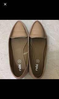 Rubi pink flat shoes