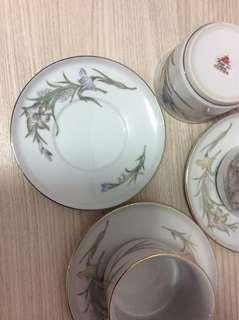 Cups and plates (3sets)