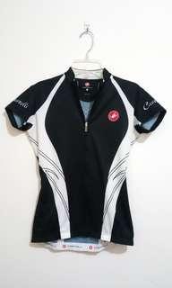 Castelli 女版 夏季車衣 專業騎行衣 女版 S碼 road bike jersey women s