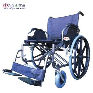 Hopkin extra large steel wheelchair