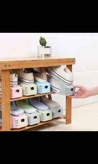 🚚 5 Sets x Adjustable Shoes Rack