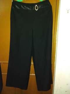 Black Office Pants
