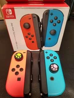 Nintendo Switch 手制 手柄 controller 紅藍 有保 不議價