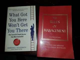 🚚 Rules of management by Richard Templar