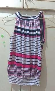Top stripes pink