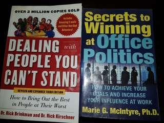 🚚 Dealing with people you can't stand and Secrets to winning at office politics
