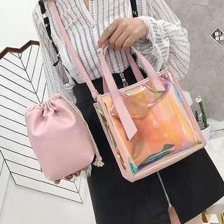 🚚 Holographic Sling Bag