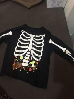 Skeleton Design Top