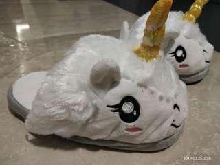 Flurry Unicorn Bedroom Slippers