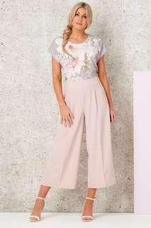 Pink Culottes