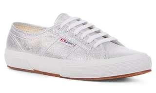 Superga 2750 Lamew Grey Silver Authentic