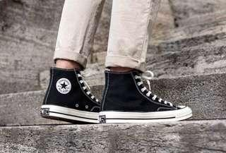 INSTOCKS authentic black converse chuck taylor all star