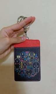 🚚 BT21 Card Holder Red
