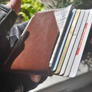 Dompet Pria Kulit Asli Minimalis Wallet KASUARI II from BHINNEKA