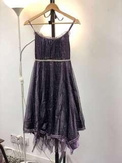 深紫色晚宴裙💃🏼