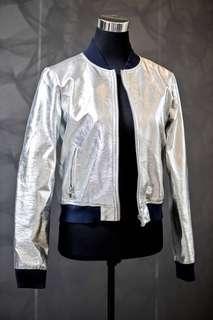 Zara Silver Jacket