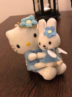 Hello Kitty 毛公仔掛飾
