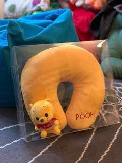 全新Winnie the pooh頸枕