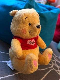 全新Winnie the pooh毛公仔