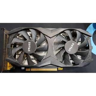 ZOTAC Nvidia Geforce GTX 1050 Ti OC 4GB Graphic Card
