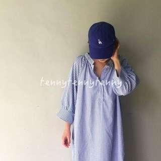 轉 正韓Tenny的時尚小窩 寶藍小LA大聯盟老帽