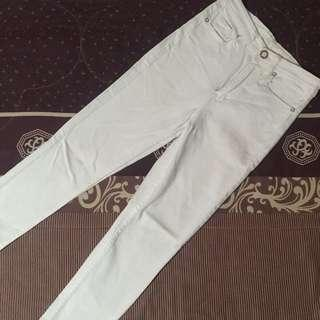 White Chanel Jeans