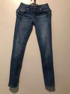 Mango skinny push-up jeans