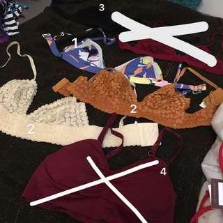 🚚 「各式全新50-300元ROXY、voda 歐美泳裝、內衣內褲」#一百均價
