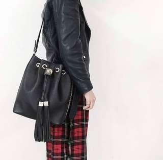 Salut De Miel drawstring Bag (Authentic) - Korean designer