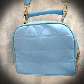 Crossbody bag sky blue