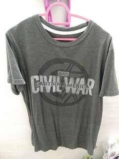 The Avengers Civil War Grey T-Shirt #CarouRaya