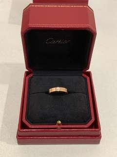 Cartier Love Ring Diamond Sz58