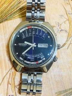 Orient calendar watch vintage ( Rare ) Automatic