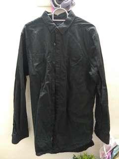 Rope Man Black Long Sleeve Shirt (M) #CarouRaya