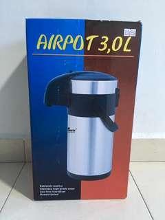 Airpot Hot & Cold Water Dispenser, 3 litres