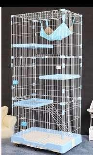 (New!) big tall blue pet cage