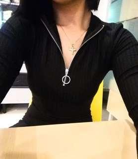 TERRANOVA BODY CON BLACK DRESS (SEXY)