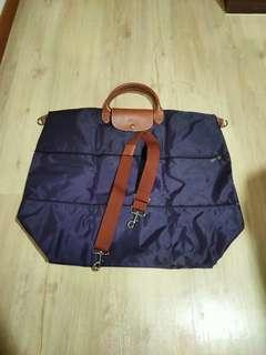 Long Champ expandable travel bag