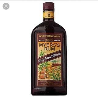 🚚 Myers rum