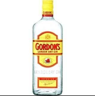 🚚 Gordon's gin