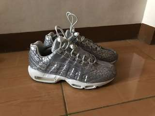 official photos 125be 60bbe Nike Airmax 95 anniversary platinum
