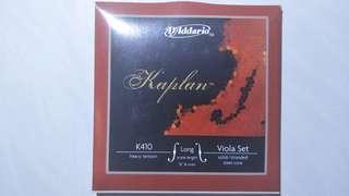 D'Addario Kaplan Viola String Set