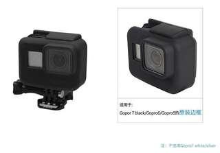 Gopro7 black.6.5原裝軟膠邊框