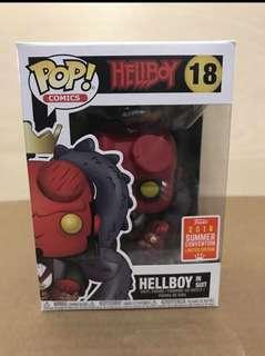 Hellboy in Suit