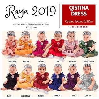 🚚 Qistina Baby Dress