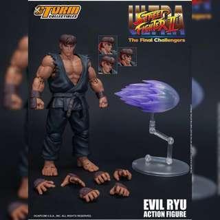 Evil Ryu and Violent Ken, Street Fighters